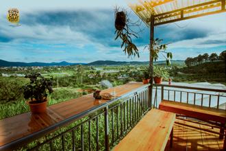 Thả hồn theo mây trời quán cafe view đẹp ở Đà Lạt: view 360