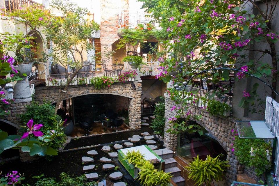 10 quán cafe sân vườn đẹp ở Sài Gòn. Ảnh 18
