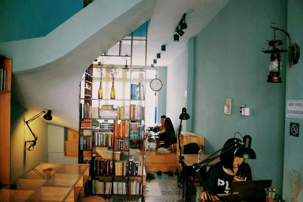 Quán cafe sách đẹp ở sài gòn. Ảnh 19
