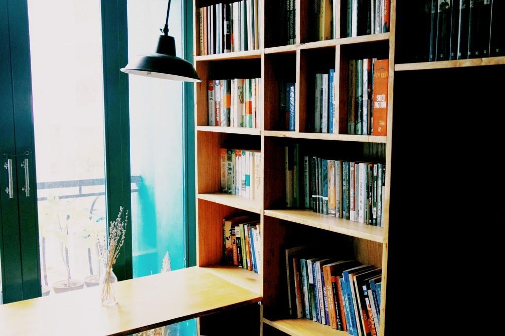 Quán cafe sách đẹp ở sài gòn. Ảnh 15
