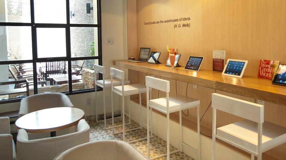 Quán cafe sách đẹp ở sài gòn. Ảnh 7