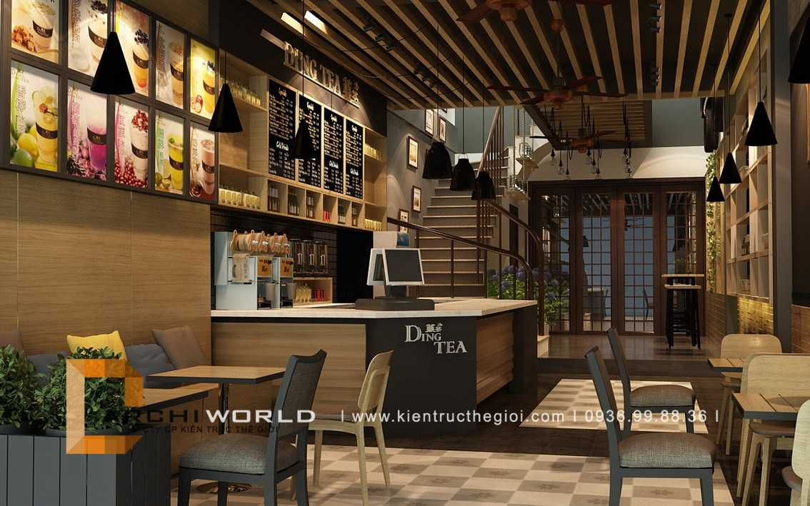 Thiết kế quán cafe đẹp. Ảnh 4