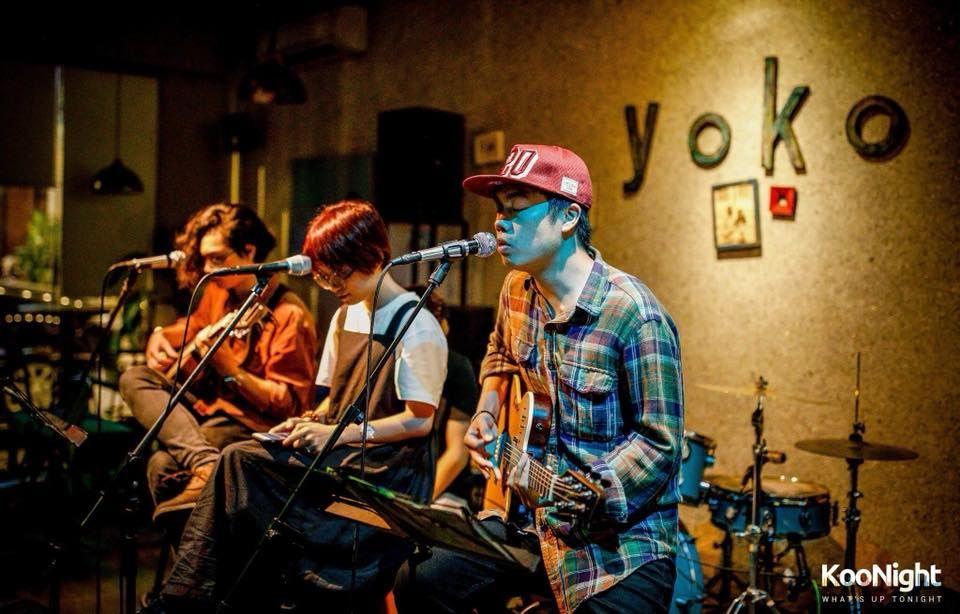 Quán cafe Acoustic Yoko 1
