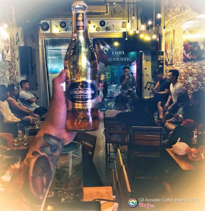 Quán cafe acoustic gõ 2