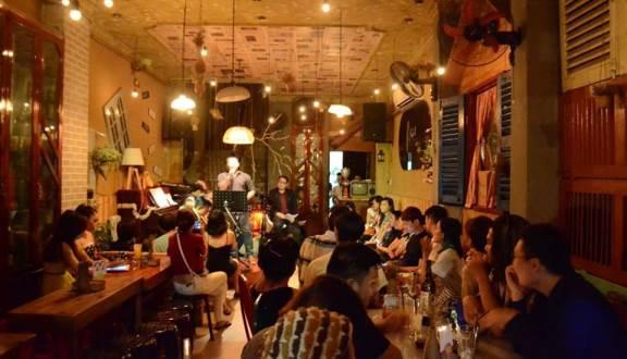 Quán cafe acoustic nhặt coffee 2