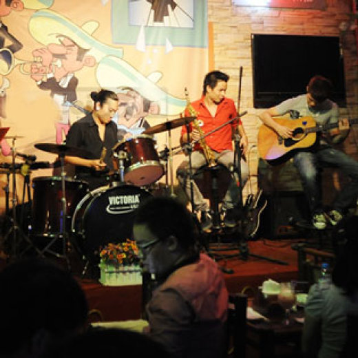 Quán cafe acoustic ken 1