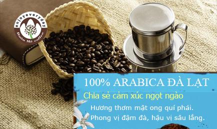 CÀ PHÊ ARABICA CẦU ĐẤT - 100.000 Đ/KG