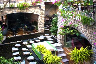 10 quán cafe sân vườn đẹp tphcm - quán cafe biệt thự 'đẹp như mơ'