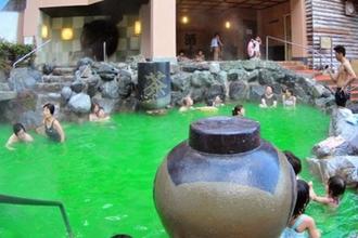 Ghé thăm spa cho khách tắm cà phê, rượu sake tại Nhật Bản