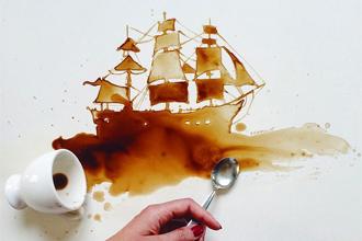 Nghệ thuật vẽ tranh cà phê - Xu hướng hội họa mới