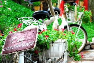 Quán Cafe Country House ở Gò Vấp: Ngôi làng châu Âu ở Sài Gòn