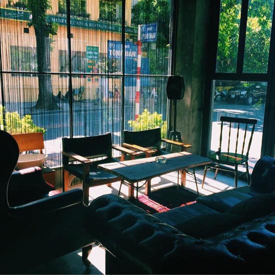 những quán cà phê đẹp ở Hà Nội Cosa Nostra