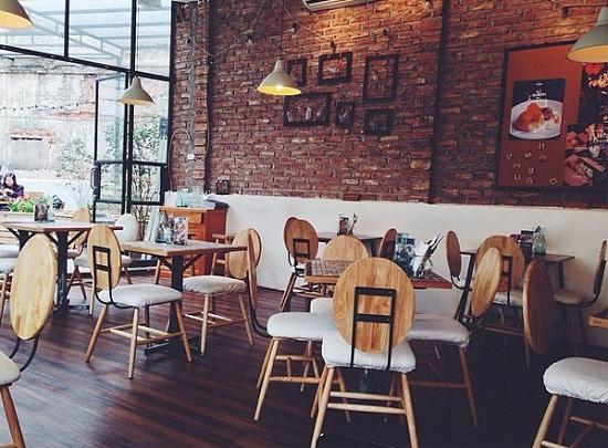 những quán cà phê đẹp ở Hà Nội the Kafe