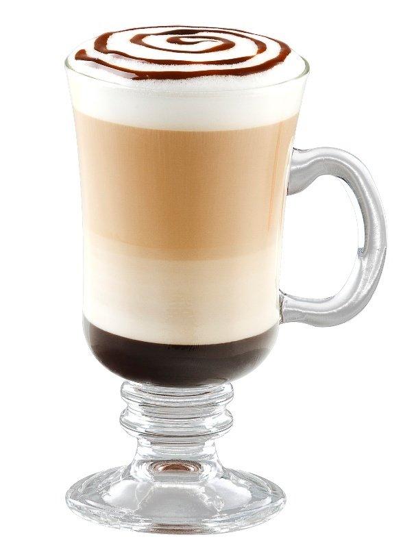Cách pha cafe mocha nóng tạo hình 4 tầng