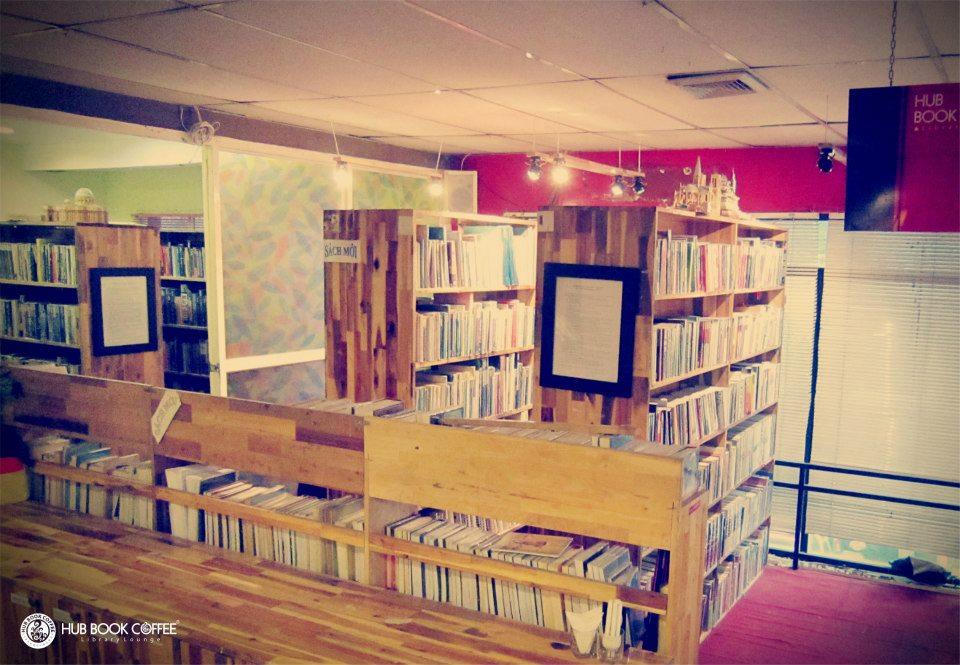 Quán cafe sách đẹp ở sài gòn. Ảnh 12