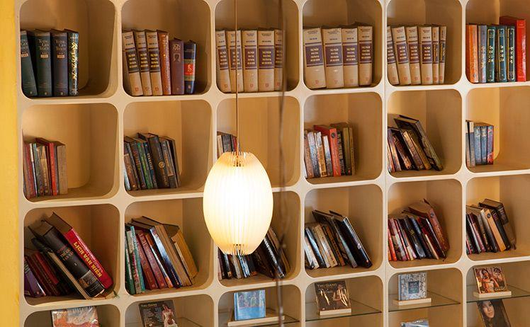 Quán cafe sách đẹp ở sài gòn. Ảnh 5