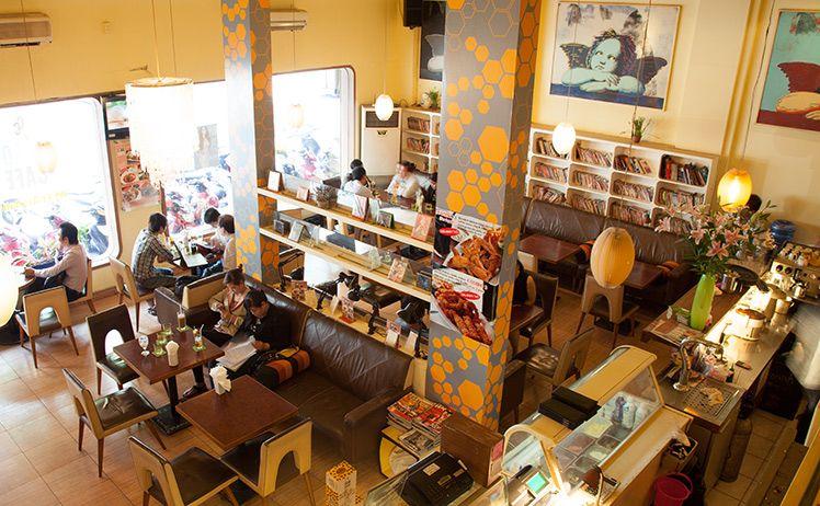 Quán cafe sách đẹp ở sài gòn. Ảnh 1