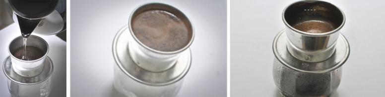 Cách pha cà phê phin ngon -  Cà phê nguyên chất - bước 4