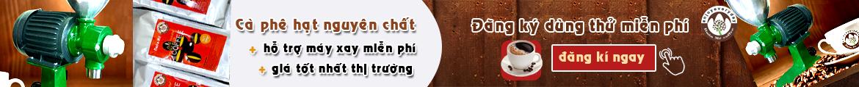banner cafe hạt nguyên chất