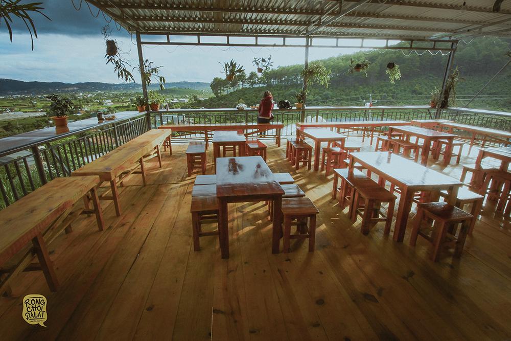 Quán cafe Dốc Lạnh - Quán cafe view đẹp ở Đà Lạt. Ảnh 3