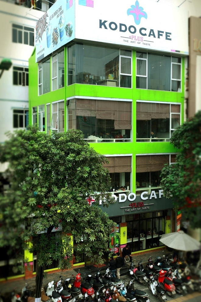Thưởng thức các đồ uống và kem mới lạ thơm ngon ở hệ thống Kodo Cafe. Ảnh 11
