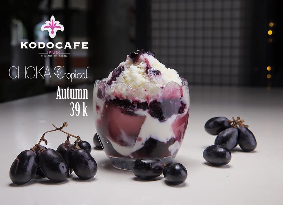 Thưởng thức các đồ uống và kem mới lạ thơm ngon ở hệ thống Kodo Cafe. Ảnh 1