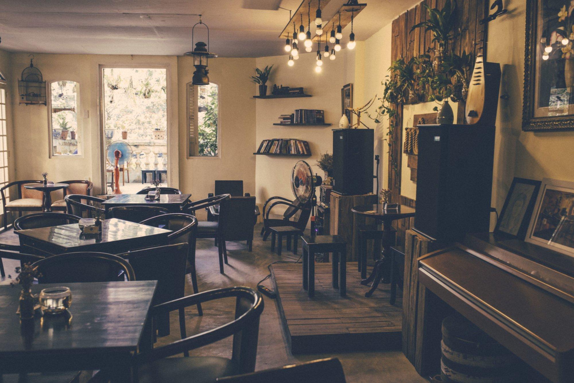 Quán cafe acoustic Mộc 24h 1