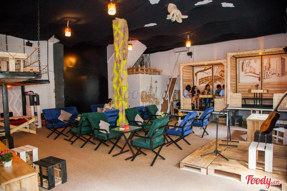 Những quán cafe đẹp ở các quận trung tâm Sài Gòn. Ảnh 19