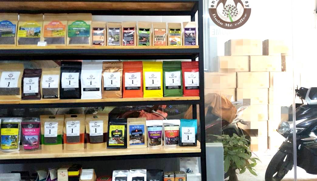 xưởng rang cà phê buôn mê
