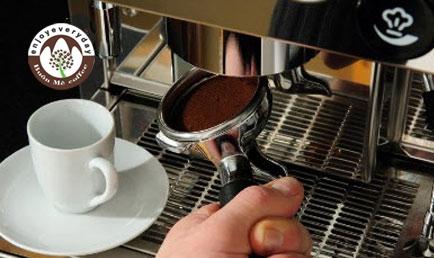 cà phê hạt espresso